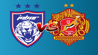Live Streaming JDT II vs Kelantan Challenge Cup 6.9.2019