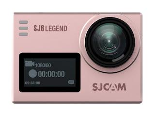 SJCAM SJ6 Legend Action Camera Murah Aksesoris Lengkap