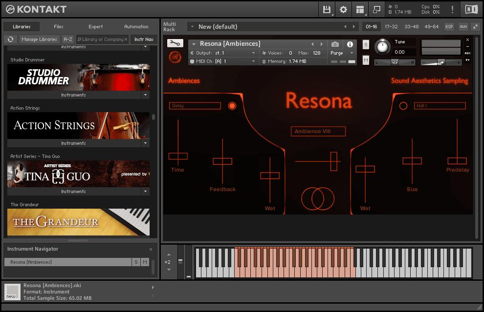Sound Aesthetics Sampling - Resona v1.0