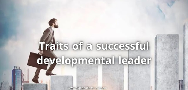 What's important Traits of a successful developmental leader?