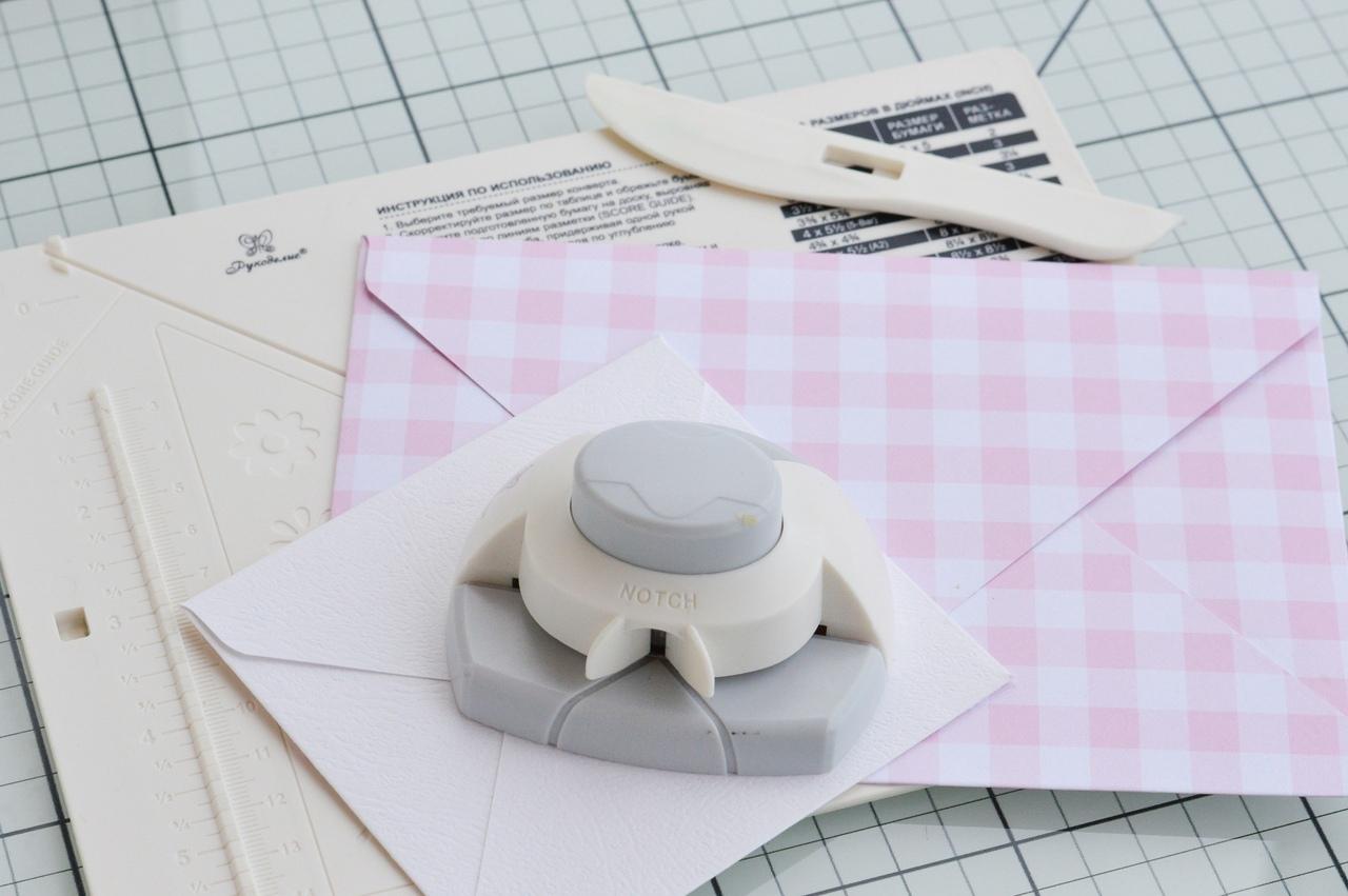 доска для создания конвертов и открыток рукоделие сложно следовать советам