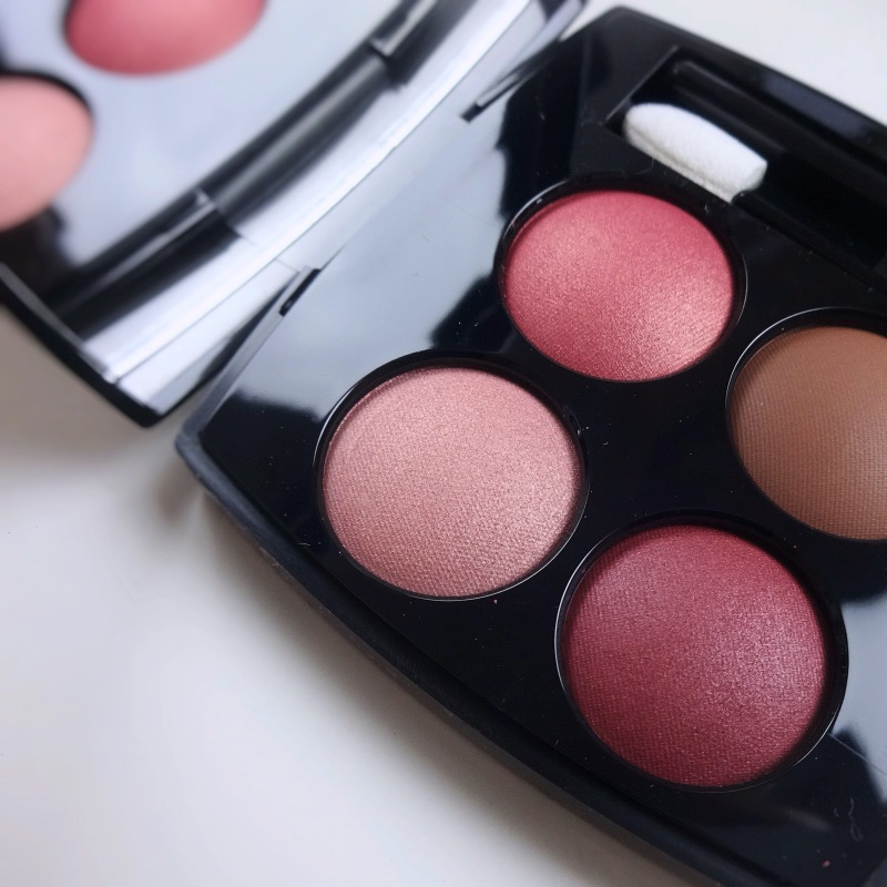 Chanel Les 4 Ombres Candeur et Provocation review swatches