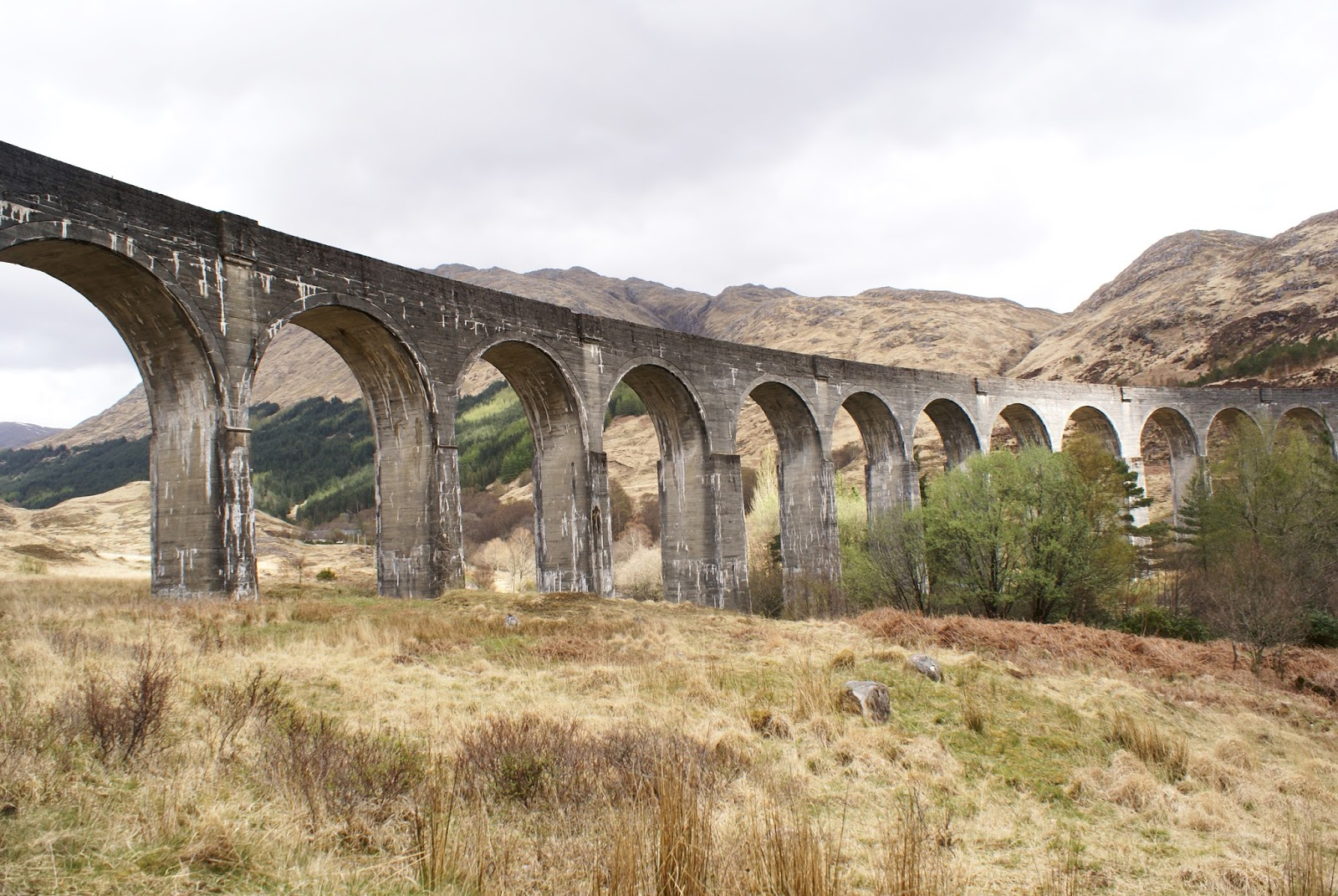 glenfinnan viaduct scotland uk highlands travel