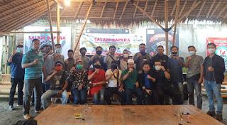 Rapat : Barisan Pemuda Nusantara (Bapera) Lombok Barat (Lobar), DPD Bapera NTB menggelar rapat pembentukan panitia pelantikan.