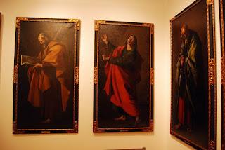 Zurbaran, les 12 apôtres