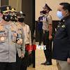 Satpam Bank BRI Makassar Menerima Penghargaan Dari  Kapolda Sulsel