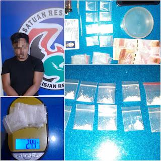 Satres Narkoba Polres Sinjai Berhasil Amankan As di Desa Bua
