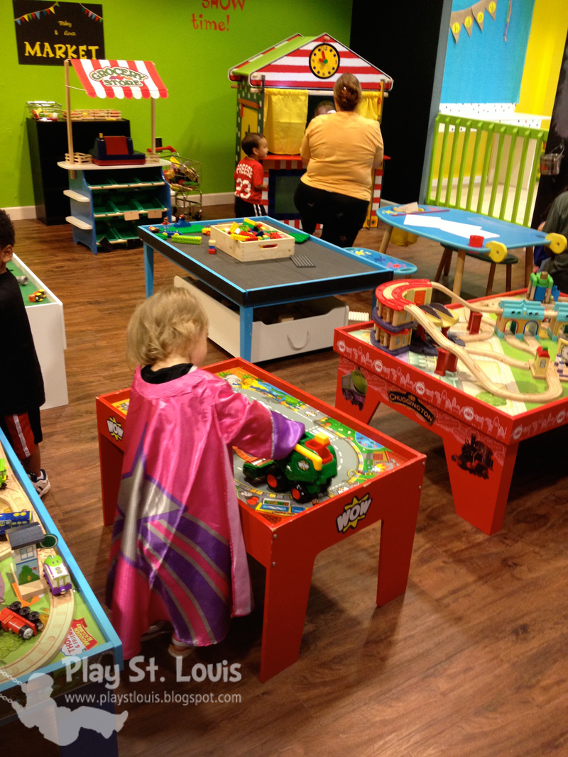 Tables And Chairs For Toddlers Yankees Folding Chair Play St. Louis: Toy Tyme & Partay Room, Chesterfield, Mo
