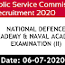 UPSC Recruitment 2020 NDA and NA apply now