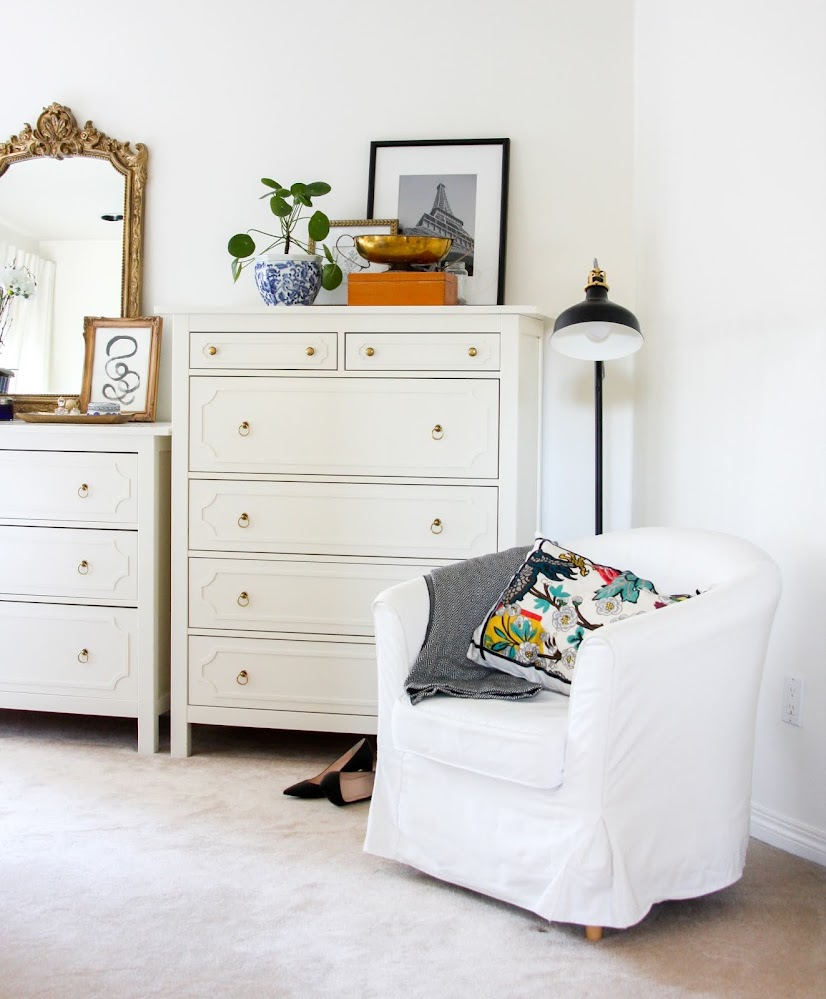 Ikea Hemnes Dresser Hack with O'verlays