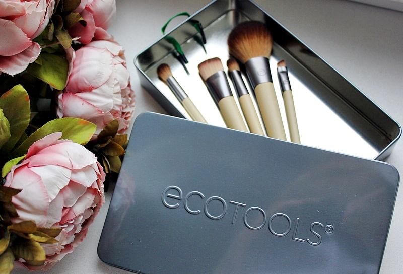 Набор кистей для макияжа EcoTools, Start The Day Beautifully Brush Set / обзор, отзывы