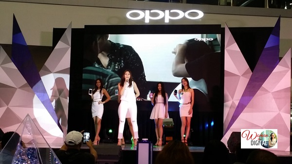 Sarah Geronimo for Oppo Mirror 5
