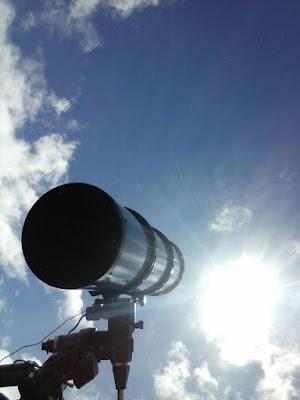 Tránsito de Mercurio - El cielo de Rasal