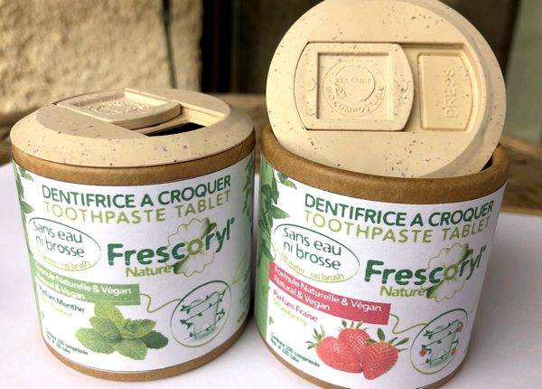 Frescoryl, le dentifrice à croquer