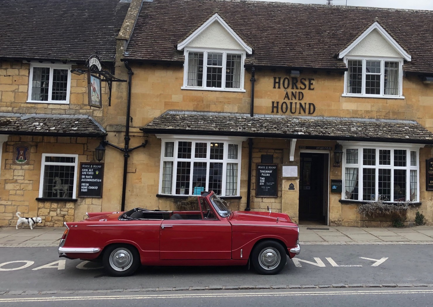 Speedmonkey Driving Around The Cotswolds In Classic British Cars