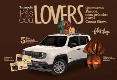 Cadastrar Promoção Páscoa Lovers Cacau Show
