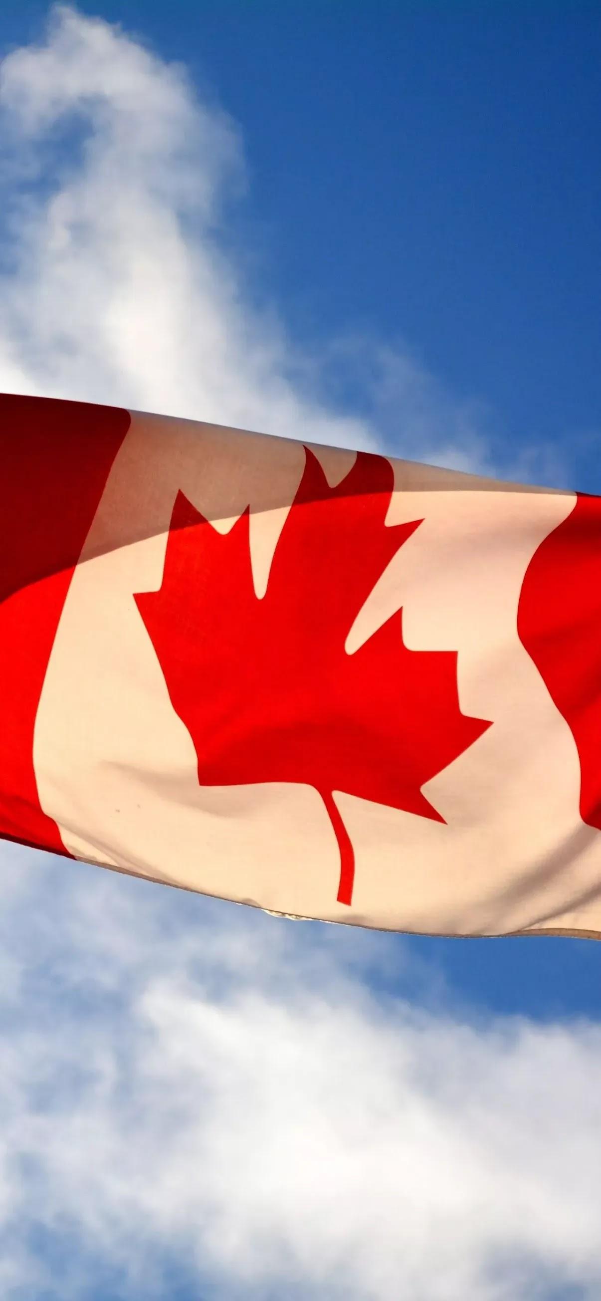 Canada flag image wallpaper