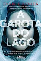 Capa divulgação do livro A garota do lago