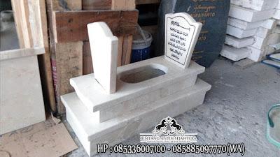 Contoh Kuburan Bayi | Pusat Pembuatan Kijing Marmer