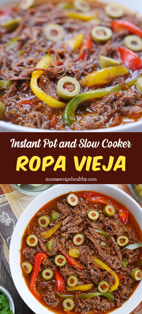 Ropa Vieja (Instant Pot and Slow Cooker)