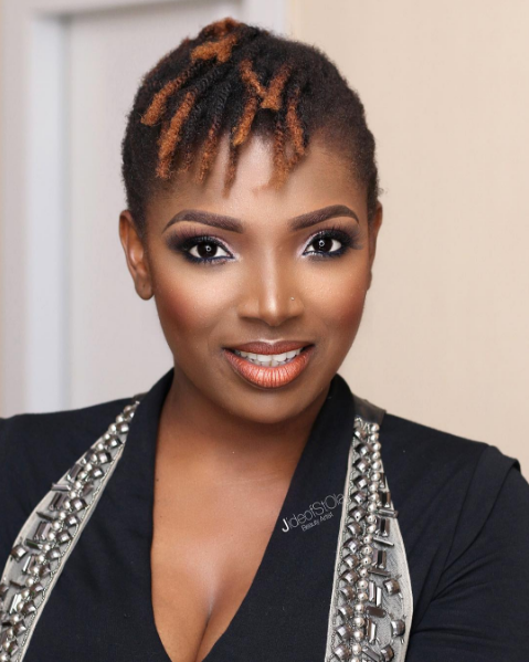 Annie Idibia Enjoys Amazing Time At A Night Club In Lagos