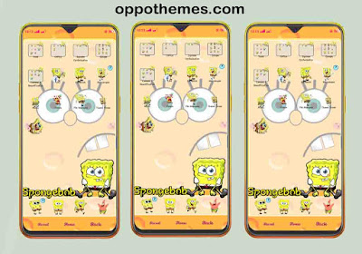 Spongebob Voice Actor Theme For Oppo Android Smartphone