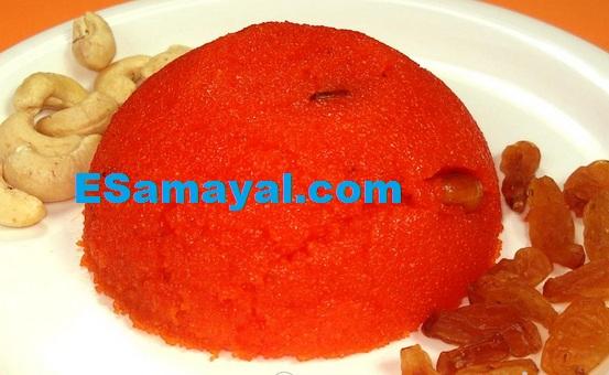 கோதுமை ரவா கேசரி செய்வது எப்படி? | Wheat Rawa Kesari Recipe !