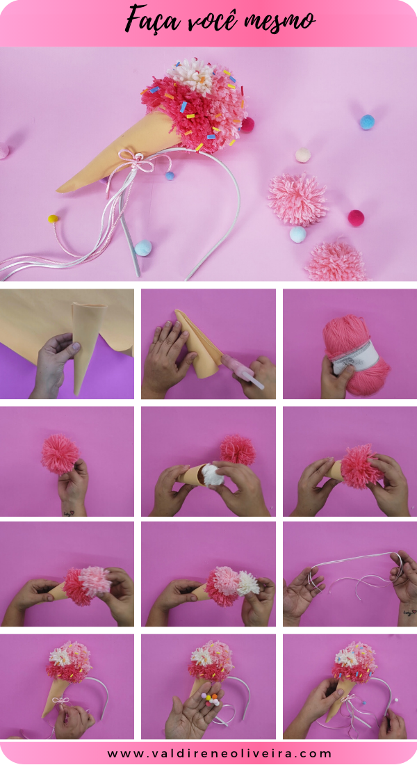 do it yourself -diy fantasia-valdirene oliveira