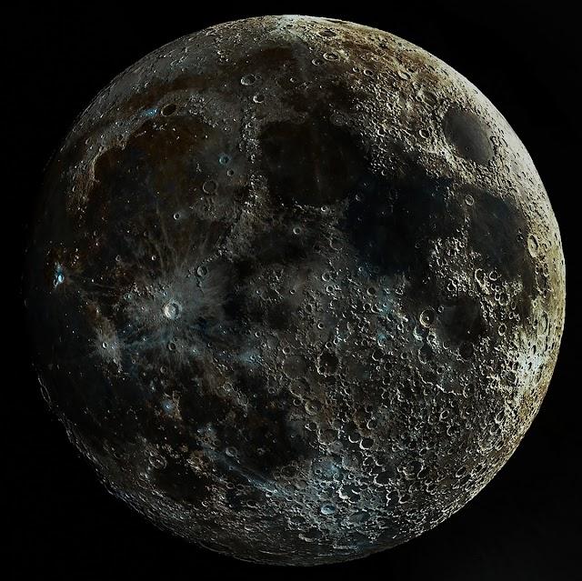 La NASA dice que definitivamente hay agua en la luna