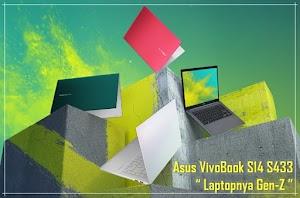 """Asus VivoBook S14 S433 """" Laptop Rekomended Untuk Gen-Z """""""