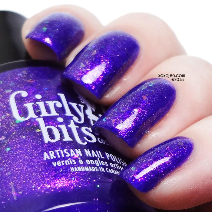 xoxoJen's swatch of Girly Bits Grape Escape