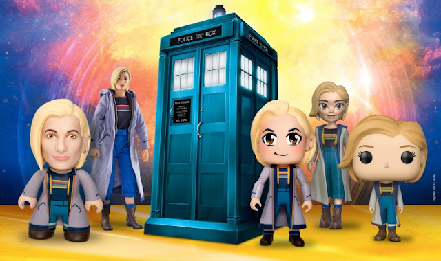 Doctor Who 13th Doctor Jodie Whittaker merchandise figurines