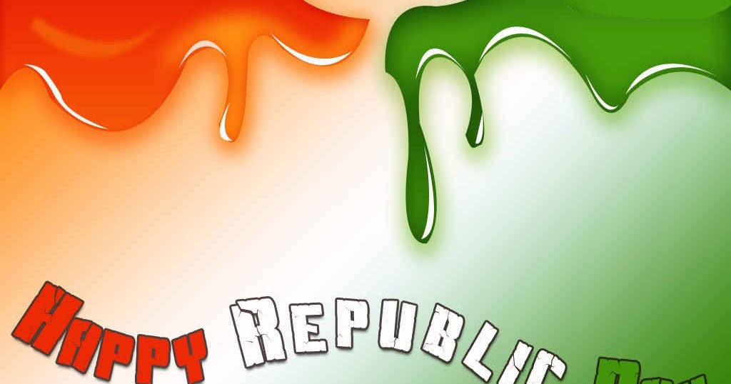 Gandhi Ji With Indian Flag Hd: Greeting Republic Day,wishes Republic Day,26 January Day