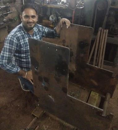 Developing Aluminium Foil machine at our workshop