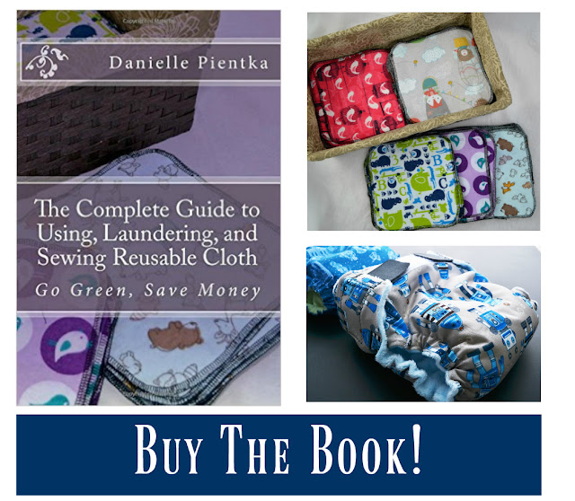 Buy a book all about sewing and using ecofriendly products like cloth diapers, wipes, family cloth, and more.