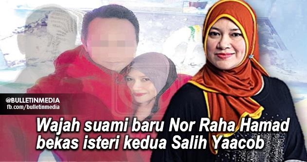 3 Foto wajah suami baru Nor Raha Hamad bekas isteri kedua Salih Yaacob
