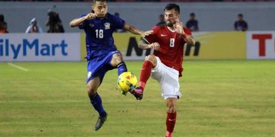 Hasil Final Piala AFF leg 1, Indonesia vs Thailand 2-1