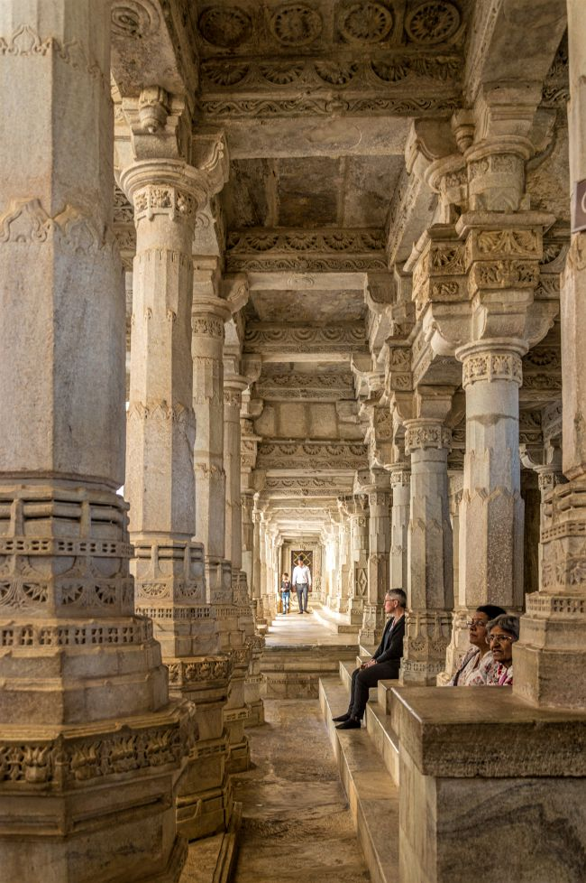 It is a Forest of Pillars at Ranakpur Jain Temple