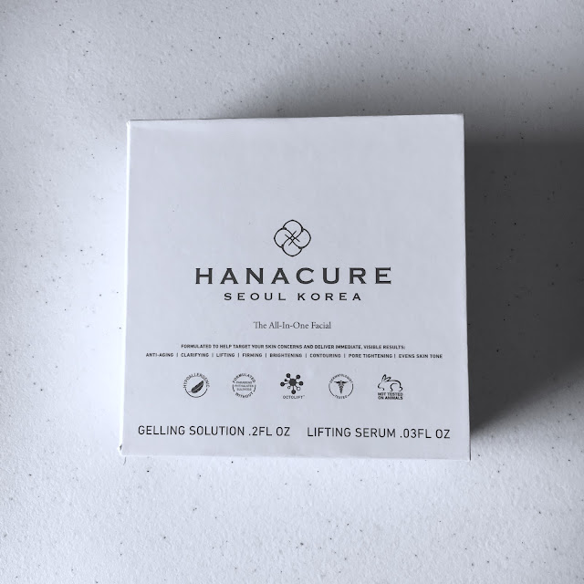 Hanacure, Hanacure All-In-One Facial, viral facial, mask, face mask, skincare, skin care, Drew Barrymore face mask, old lady mask, Korean skincare
