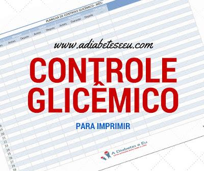 controle glicêmico, glicemia, diabetes