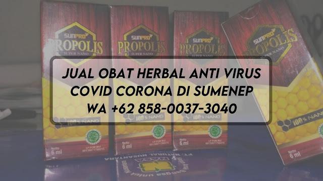 Jual Obat Herbal Anti Virus Covid Corona di Sumenep