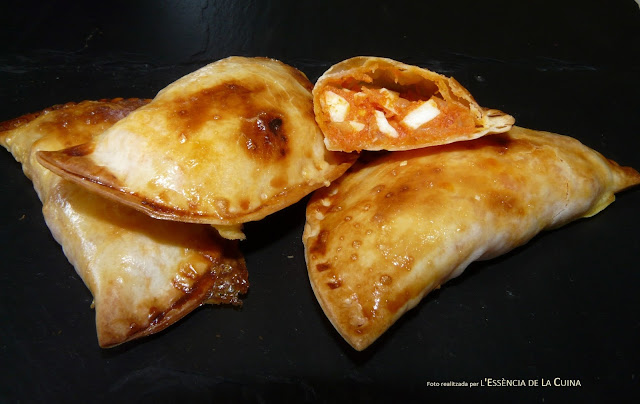 Crestes de Tonyina, Empanadilles, empanadillas, atún