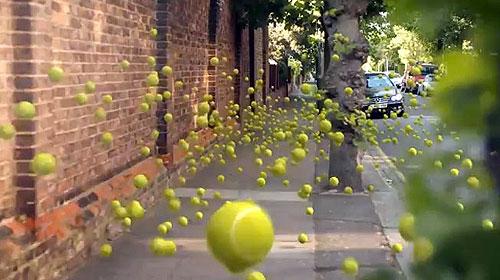 bolas, tenis, wimbledon, sony bravia, rua