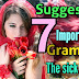 7 important grammar tricks from the poem 'the sick rose' (95%)