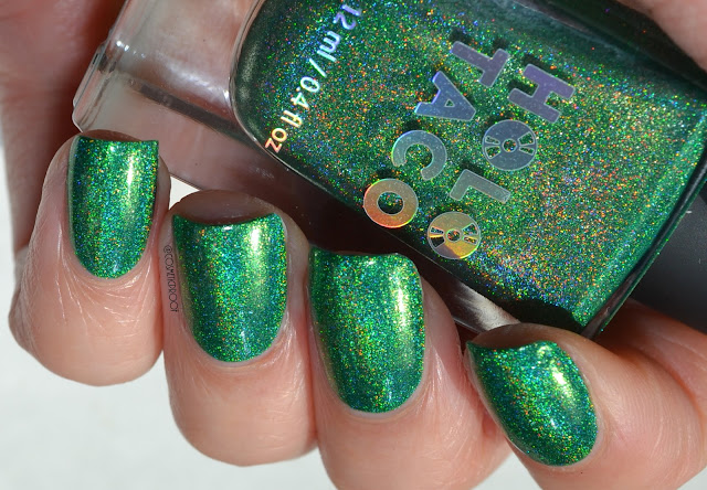 Holo Taco Green Taffy Swatch