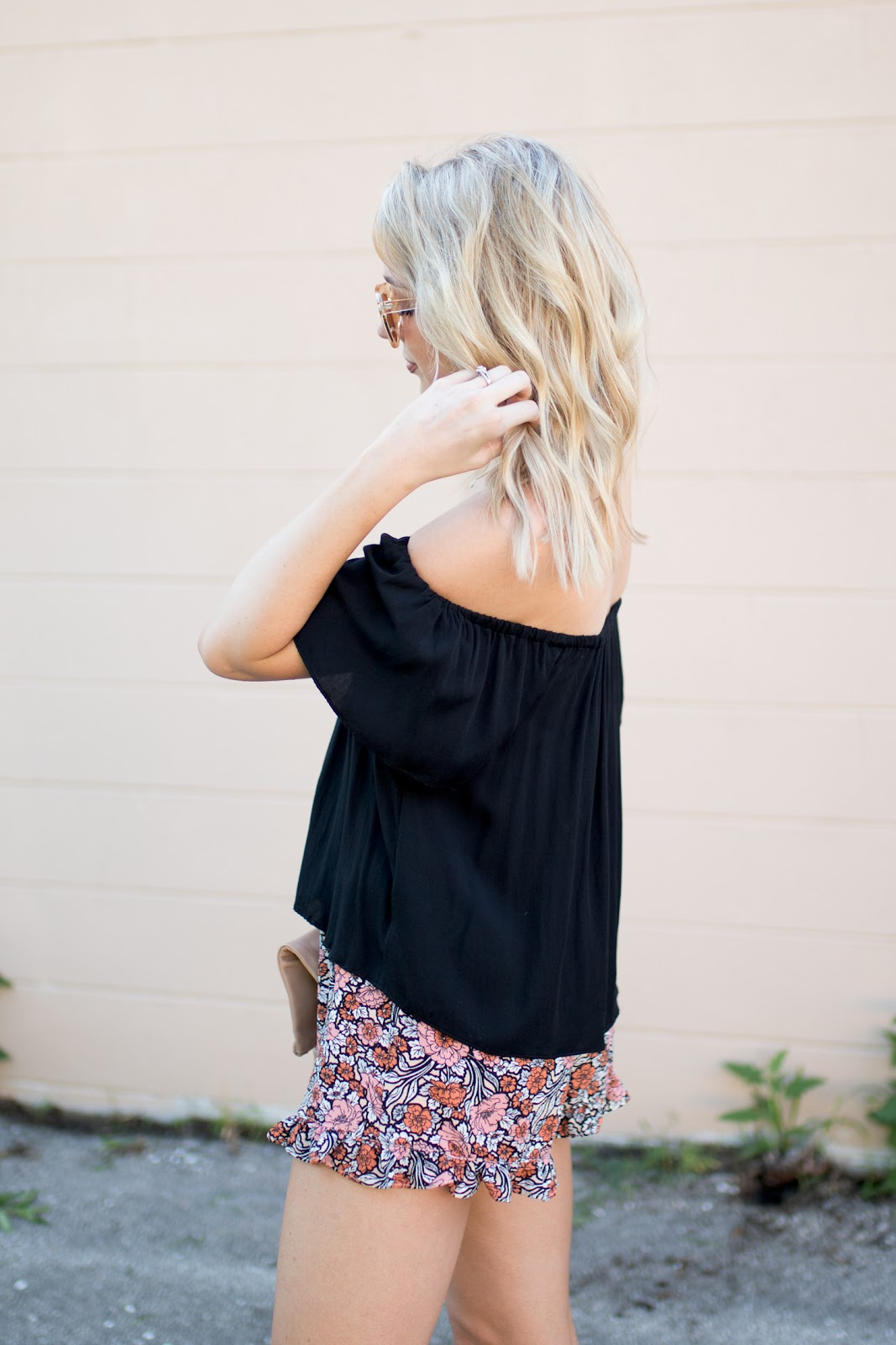 Floral shorts for $25