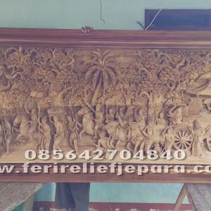 Relief Hayamwuruk Majapahit