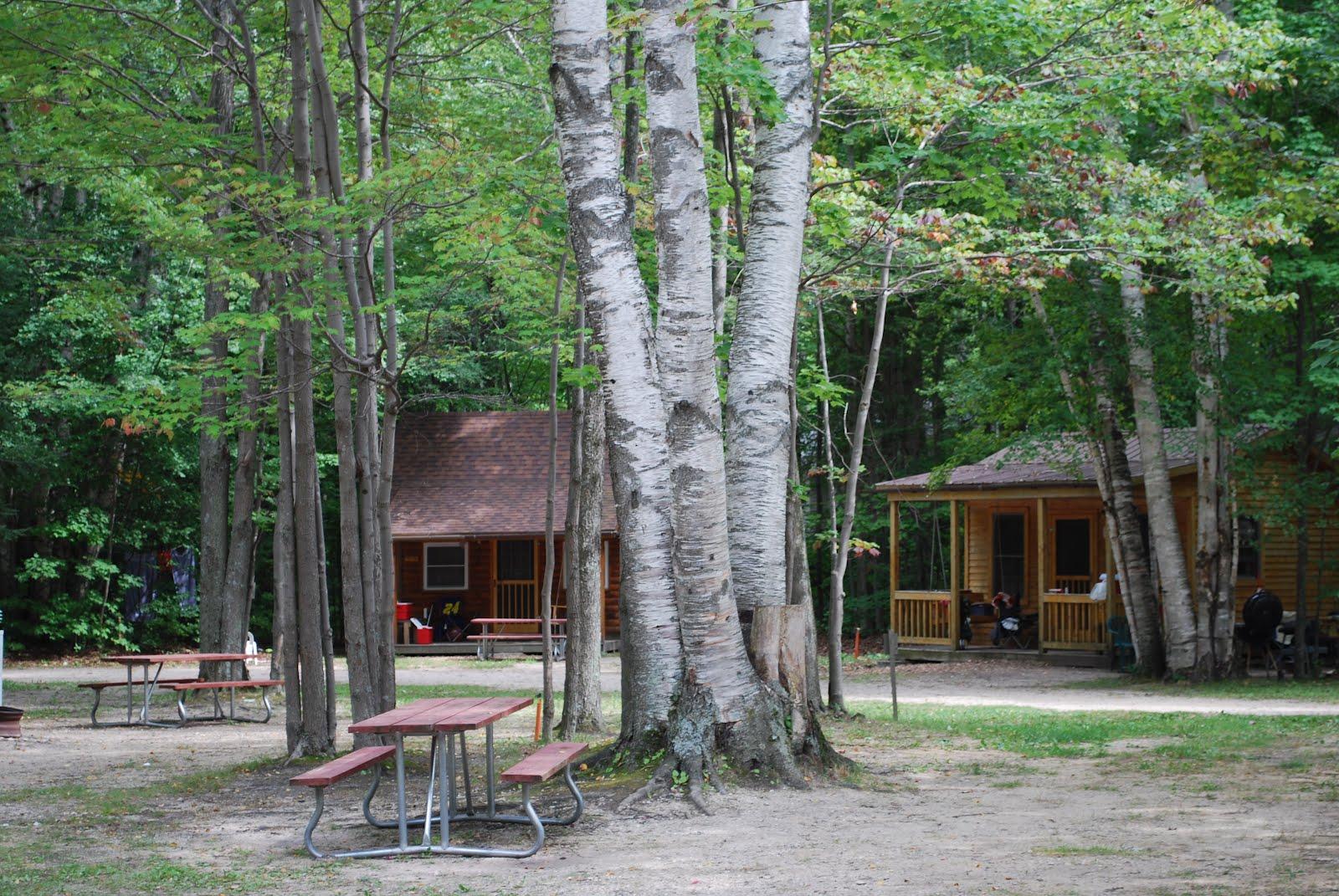 mackinac campgrounds site cabins koa city type island mackinaw lodging michigan