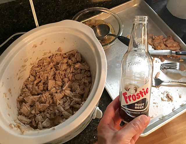 Pulled Pork Root Beer Sliders