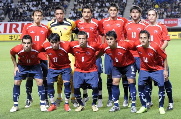 Formación de Chile ante Bélgica, Kirin Cup 2009, 29 de mayo